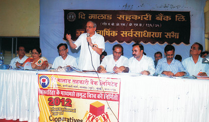 Chairman Shri. Sharad Sathe at 37<sup>th</sup> Annual Genereal Meeting